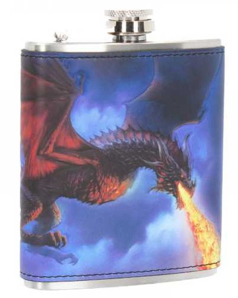 Fire From The Sky Hipflask