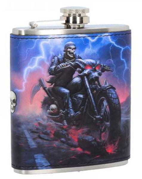 Hell On The Highway Hipflask